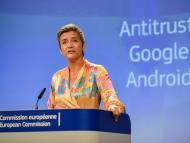 Margrethe Vestager, comisaria de Competencia de la Unión Europea.