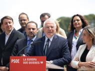 Josep Borrell, cabeza de lista del PSOE para las Elecciones Europeas