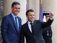 Pedro Sánchez y Emmanuel Macron