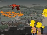 """A scene from """"The Simpsons,"""" season 29, episode one, """"The Serfsons."""""""