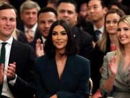 Jared Kushner, Kim Kardashian West, and Ivanka Trump.