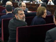 Líderes independentistas catalanes en la Sala del Supremo