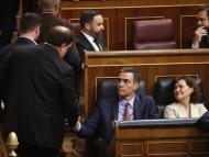 Oriol Junqueras y Pedro Sánchez
