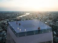 La piscina del rascacielos Infinity Londres.
