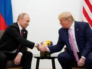 Vladímir Putin y Donald Trump