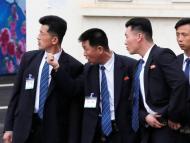 Guardaespaldas de Kim Jong Un