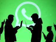 Gente conectada a WhatsApp