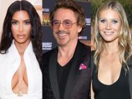 Kim Kardashian, Robert Downey Jr., and Gwyneth Paltrow tried to launch music careers.