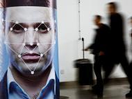 Feria de tecnología de reconocimiento facial
