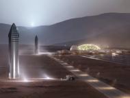 Base en Marte diseñada por Space X