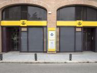 Una oficina de Correos, con su nuevo logotipo corporativo