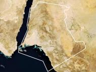 The proposed site for the Neom project.