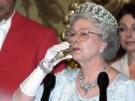 The Queen enjoys a glass of Champagne, but isn't a fan of wine.