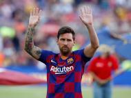 Leo Messi, en un encuentro ante el Arsenal en agosto de 2019.