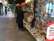 Barrio Salamanca: periódicos a primera hora
