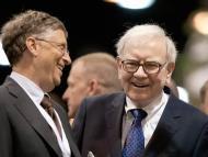 Bill Gates y Warren Buffett