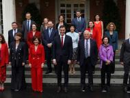 El Consejo de Ministras de Pedro Sánchez, tras formar Gobierno en junio de 2018.