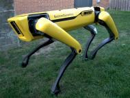 Perro robot spot de Boston Dynamics