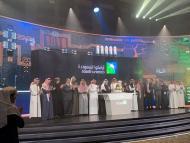 La ceremonia oficial del debut bursátil de Saudi Aramco en Riyad