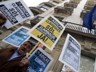 Concentración de afectados por las cláusulas suelo en Barcelona