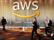 Un evento de Amazon Web Services en Las Vegas, Estados Unidos