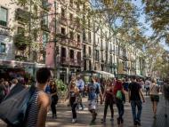 Barcelona también tiene un problema con la turistificación.