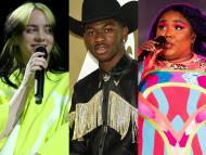Billie Eilish, Lil Nas X, and Lizzo won Grammys.