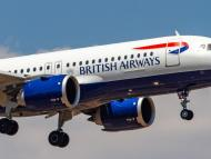 A British Airways Airbus A320neo aircraft landing in Athens, Greece, on July 15.