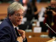 El comisario económico europeo, Paolo Gentiloni