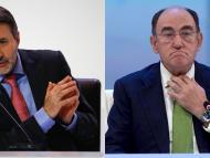 El consejero delegado de Repsol, Josu Jon Imaz, y el presidente de Iberdrola, Ignacio Sánchez Galán