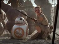 "Did you recognize Rey's staff at the film's end? Here's a better look at it from ""Star Wars: The Force Awakens."""