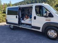 A Sacramento couple spent $1,000 at Ikea to turn a Ram van into a DIY tiny home called 'Flippie'