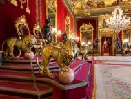 Sala del Trono del Palacio Real de Madrid.