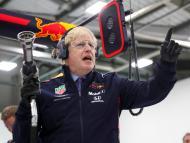 Boris Johnson, durante un acto de campaña en las pasadas elecciones de Reino Unido