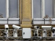 Cámaras de vigilancia.