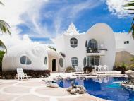 Casa con forma de concha, Airbnb