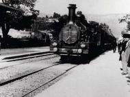 Llegada del tren a la estación: corto de los hermanos Lumière