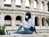 Mascarilla coronavirus Italia