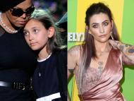 Paris Jackson tenía 11 años cuando su padre, Michael Jackson, murió.