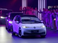 Los primeros ID.3 de Volkswagen salen de la planta de producción de Zwickau (Alemania) en noviembre de 2019