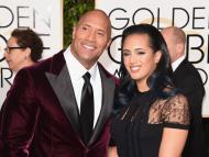 The Rock and his daughter, Simone, who is following in his footsteps.