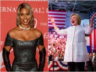 Laverne Cox became the first openly trans woman to be nominated for a Primetime Emmy and Hillary Clinton is the first American woman to win a presidential primary.