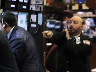 Trader entusiasmado en Wall Street.