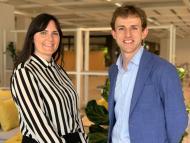 La directora de producto de Ikea con Hasier Larrea, CEO de Ori