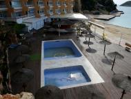 Un hotel de Mallorca vacío por el coronavirus