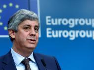 Mário Centeno, presidente del Eurogrupo.