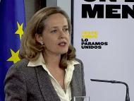 Nadia Calviño, vicepresidenta económica del nuevo gobierno.