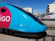 El tren de alta velocidad Ouigo de SNCF
