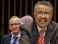 Tedros Adhanom Ghebreyesus, the director-general of the World Health Organization.