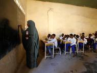 Una escuela en Mogadiscio.